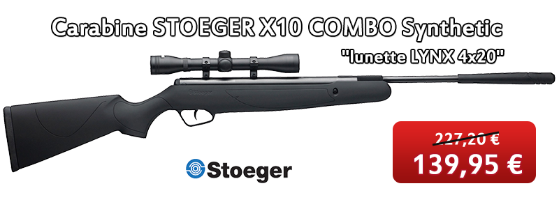 Carabine STOEGER X10 COMBO Synthetic