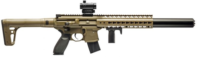 "Carabine Co2 SIG SAUER MCX FDE ""Combo RED DOT"" Cal.4,5mm"