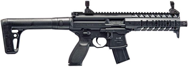Carabine Co2 SIG SAUER MPX Black Cal.4,5mm