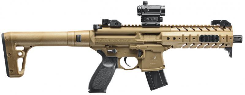 Carabine Co2 SIG SAUER MPX FDE
