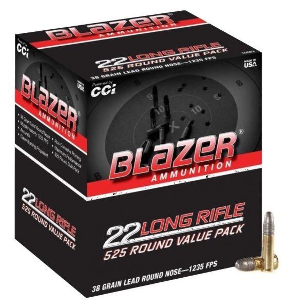 CCI 22lr Blazer Round Nose HV /525