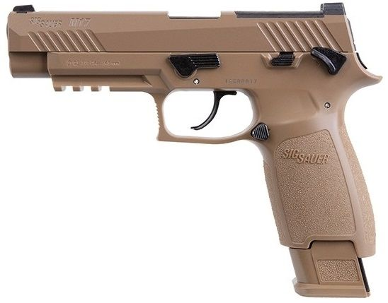 Pistolet à plombs SIG SAUER P320 M17 Coyote cal.4,5mm