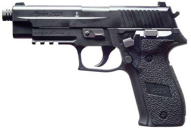 Pistolet à plombs SIG SAUER P226 Black cal.4,5mm