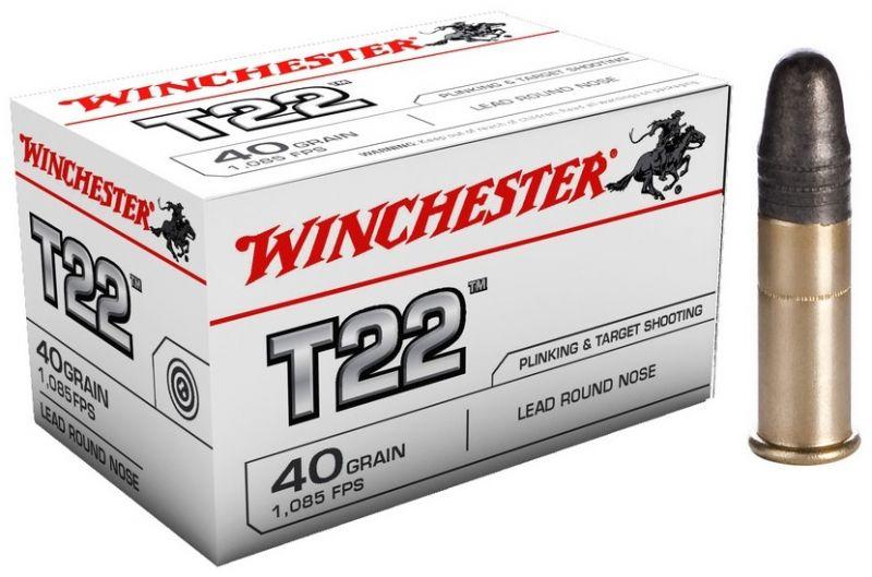 WINCHESTER T22 Standard cal.22 Lr /50