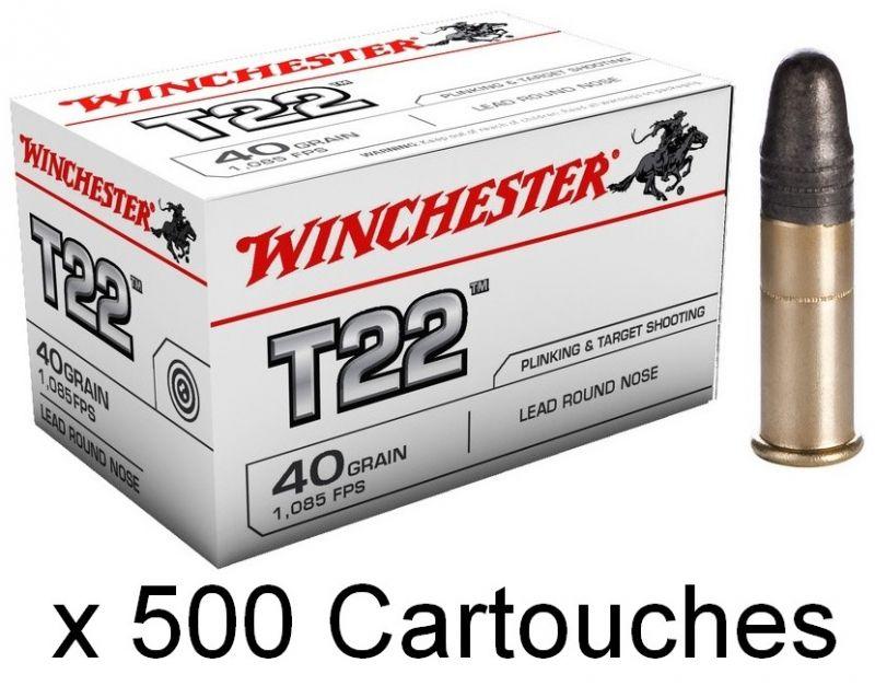 WINCHESTER T22 Standard cal.22 Lr /500