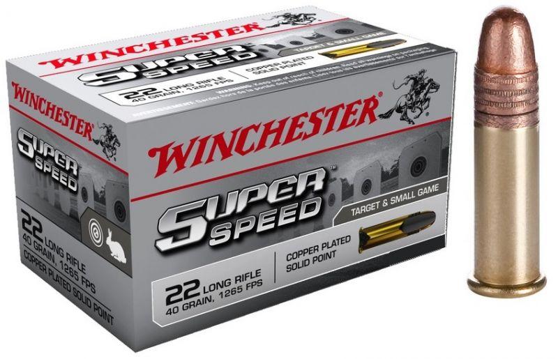 WINCHESTER Super Speed 22 Lr Pointe pleine (Grande Vitesse) /50