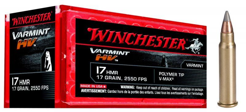 WINCHESTER cal.17 HMR Varmint HV /50