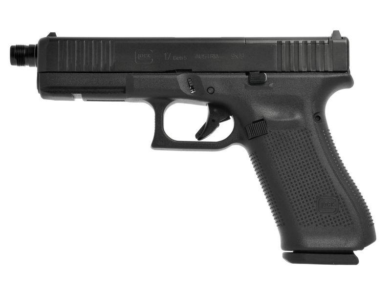 Pistolet GLOCK 17 Gen5 MOS FS Fileté cal.9x19