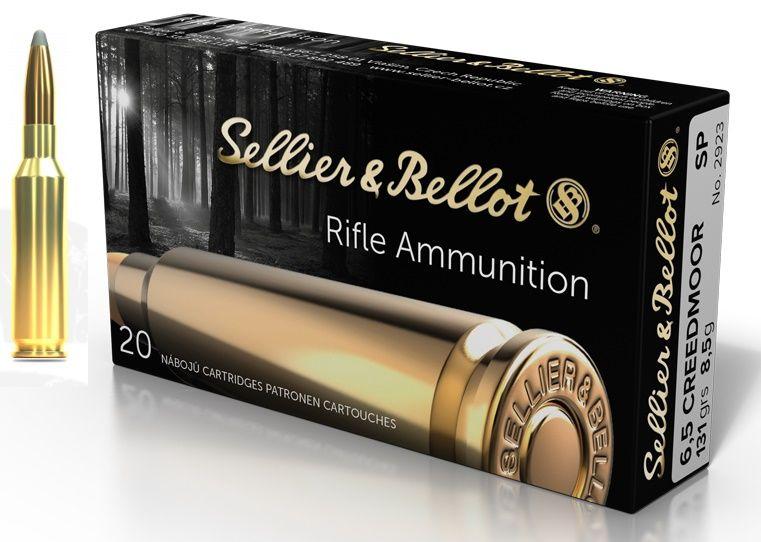 Sellier & Bellot cal.6,5 Creedmoor SP 131 grains - 8.5 grammes /20