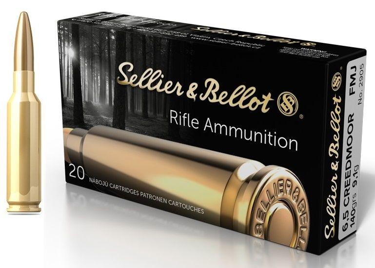 Sellier & Bellot cal.6,5 Creedmoor SP 140 grains - 9.1 grammes /20