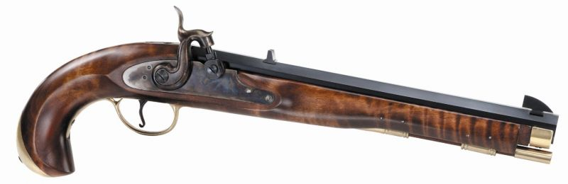 Pistolet à poudre noire PEDERSOLI NAVY MOLL à silex cal.45