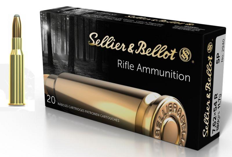 Sellier & Bellot cal.7.62x54 R SP 180 grains - 11.7 grammes /20