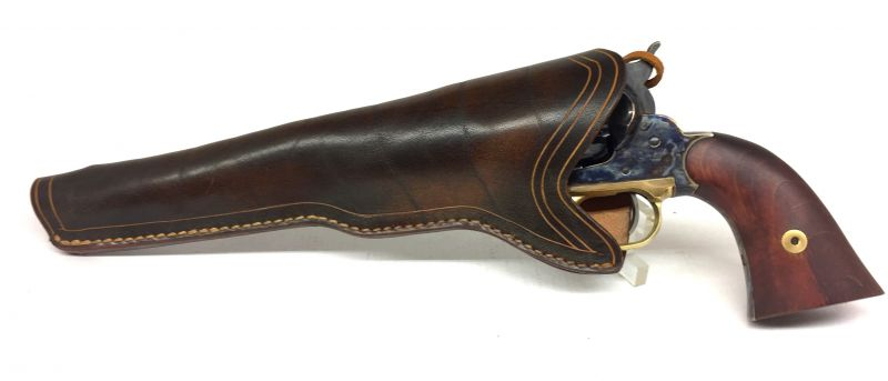 Holster Gaucher en cuir Western pour revolver 8