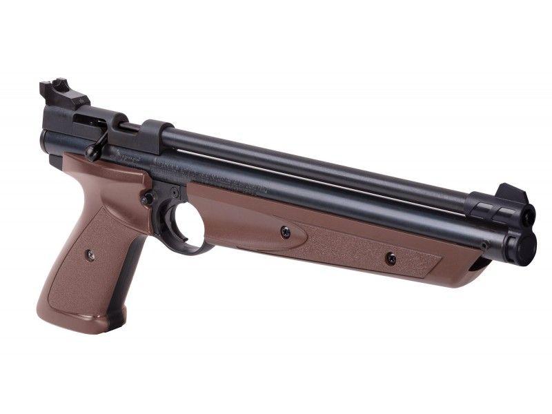Pistolet à plombs CROSMAN 1377 American Classic Marron (8 joules)