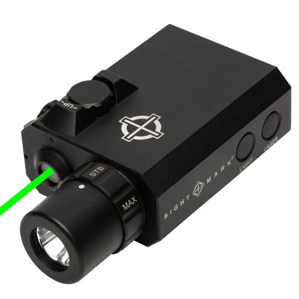 Laser vert / lampe 300 lumens pour armes longues SIGHTMARK LoPro Mini Combo