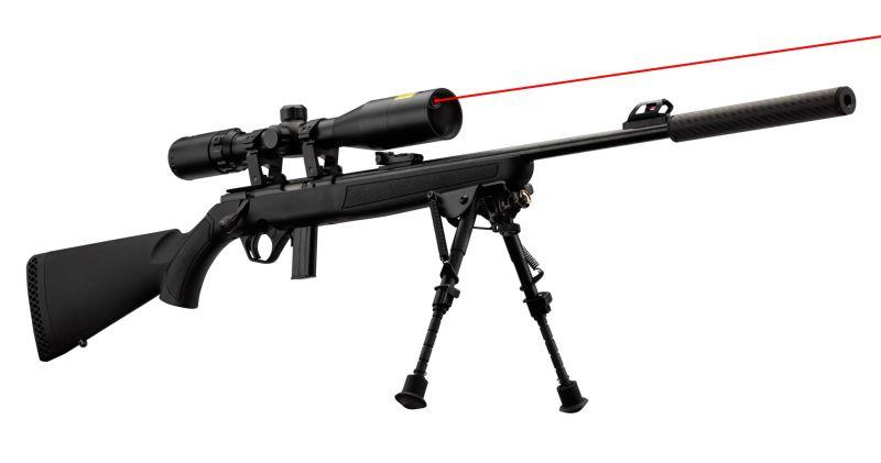 Carabine 22LR MOSSBERG Plinkster 802 synthetique ''Pack SNIPER''