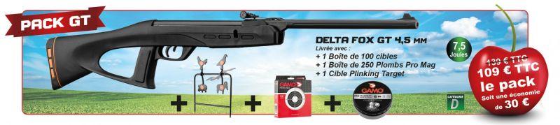 Carabines à plombs calibre 4,5mm GAMO