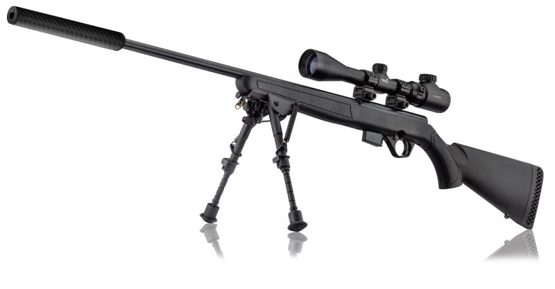 Carabine cal.17 HMR MOSSBERG Plinkster 817 synthetique ''Pack''