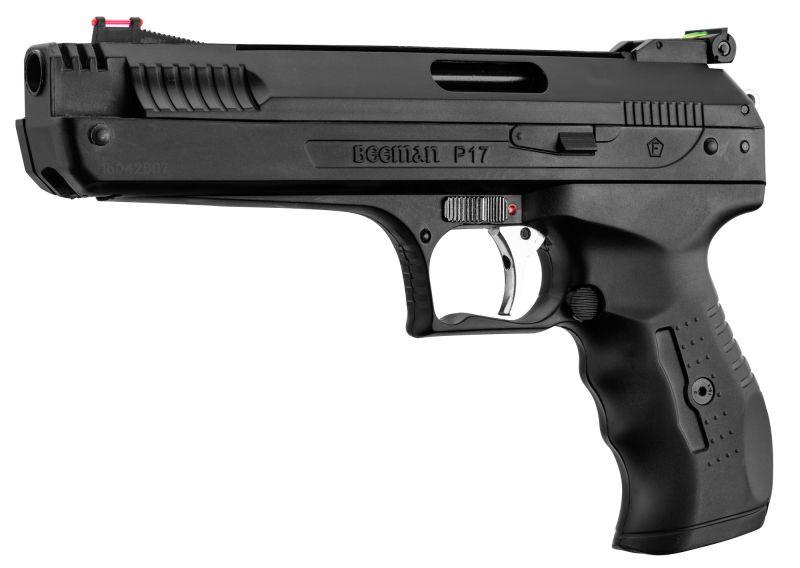 Pistolet à plombs BEEMAN P17 Deluxe cal.4,5mm