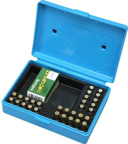 Boite à munitions MTM SB-22 Match Bleu cal.22 Lr
