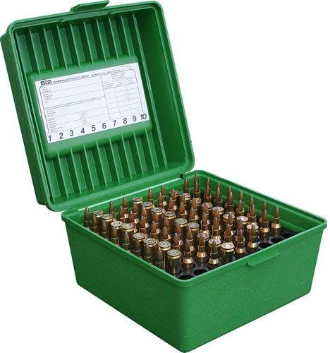 Boite à munitions universelle MTM R-100 Mag Vert