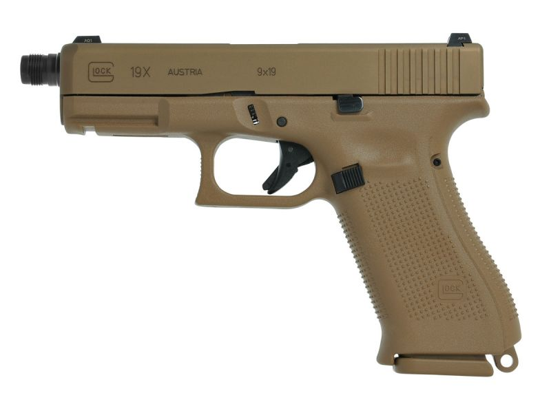 Pistolet GLOCK 19X Fileté Gen5 cal.9x19