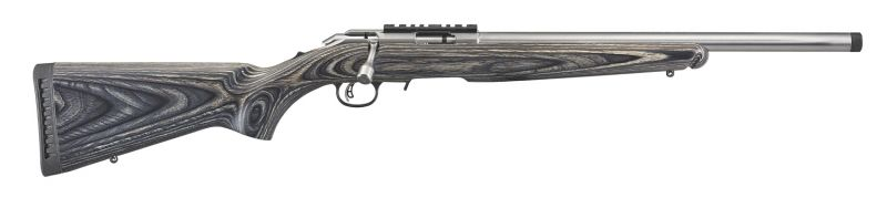 Carabine cal.17 Hmr RUGER American Rimfire Target Lamellé Inox