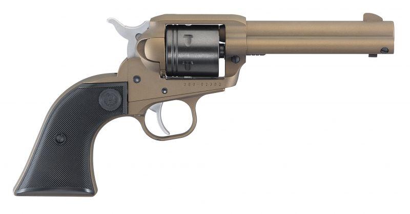 Revolver RUGER WRANGLER Bronze calibre 22 Lr