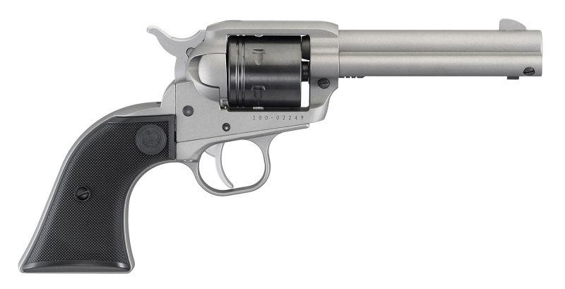 Revolver RUGER WRANGLER Inox calibre 22 Lr