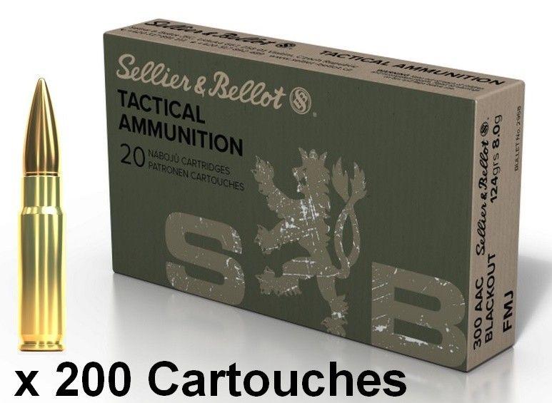 SELLIER BELLOT cal.300 AAC BLACKOUT FMJ 124gr /200