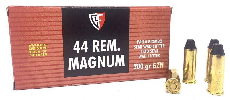 FIOCCHI cal.44 Rem Mag WAD CUTTER 200 grains /50