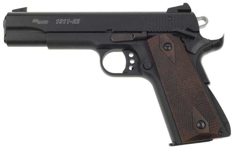 Pistolet SIG SAUER 1911-22 GSR Noir cal.22 Lr