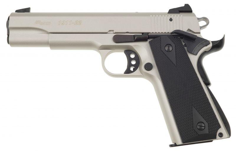 Pistolet SIG SAUER 1911-22 GSR Inox cal.22 Lr