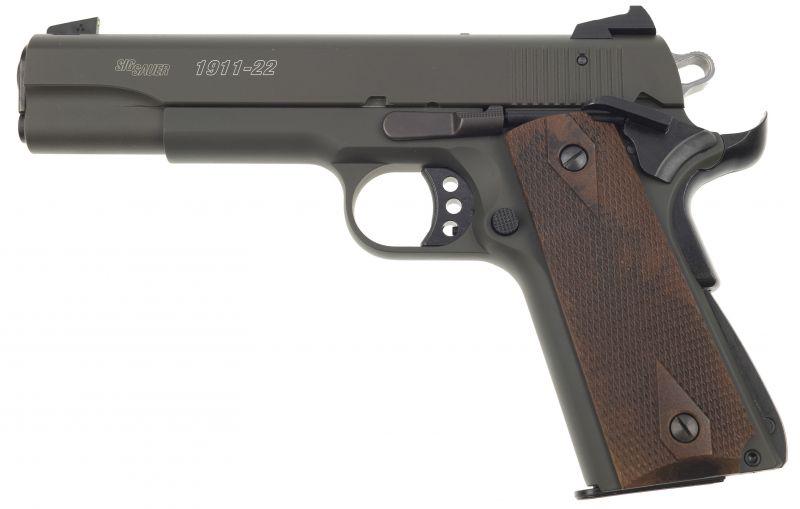 Pistolet SIG SAUER 1911-22 GSR Vert Olive cal.22 Lr