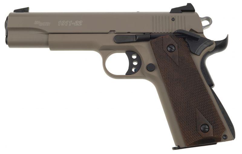 Pistolet SIG SAUER 1911-22 GSR Désert cal.22 Lr