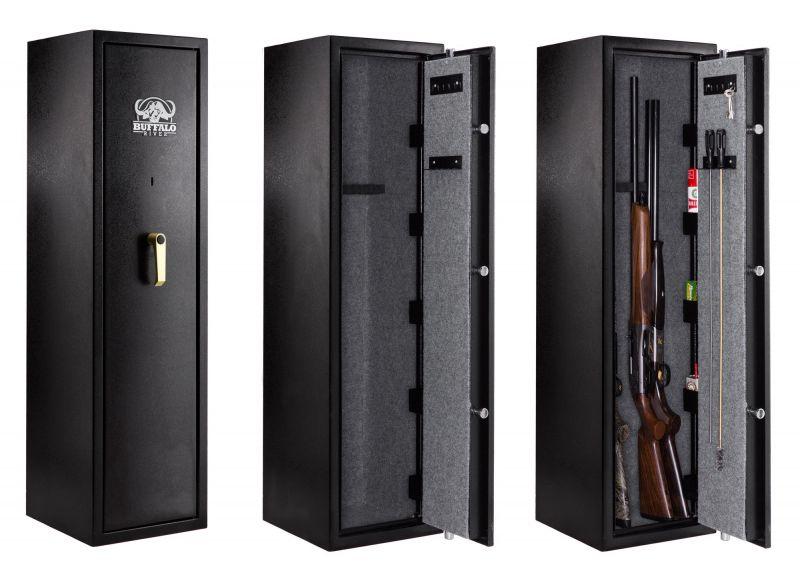 Coffre BUFFALO RIVER Premium 7 armes avec lunettes (48kg)