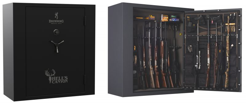 Coffre pour armes BROWNING HELL'S CANYON - 478 kg (65 armes)