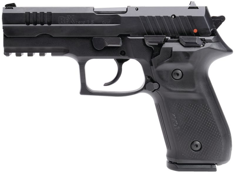 Pistolet REX ZERO1 Standard Black cal.9x19