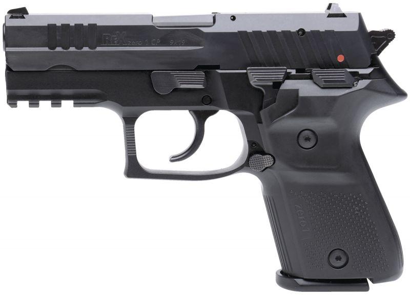 Pistolet REX ZERO1 Compact Black cal.9x19