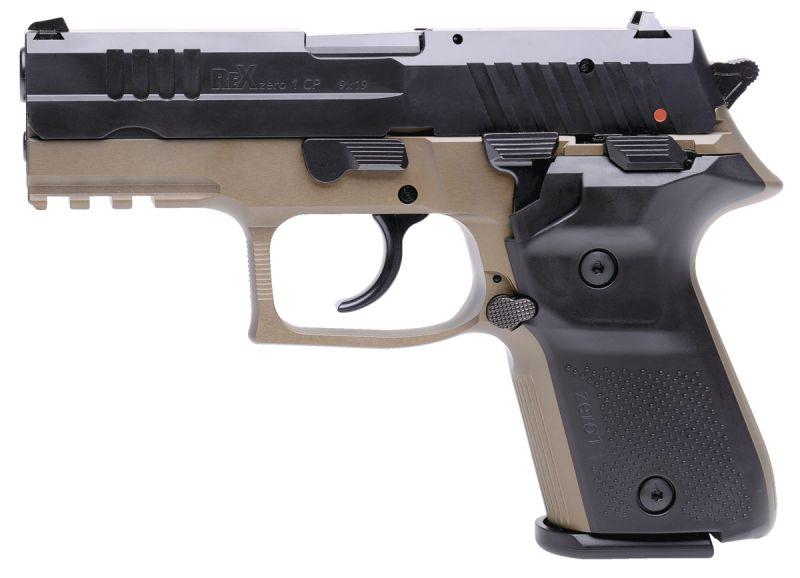 Pistolet REX ZERO1 Compact FDE cal.9x19