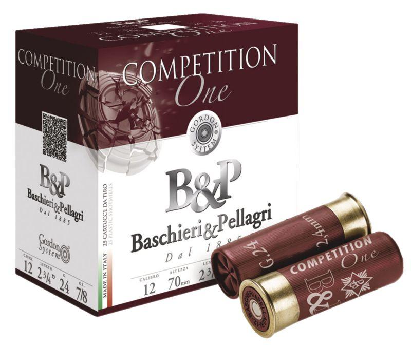 Cartouches B&P Competition One cal.12/70 28gr - n°7.5 (boite de 25)