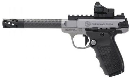 Pistolet SMITH & WESSON Performance Center SW22 Victory Carbone