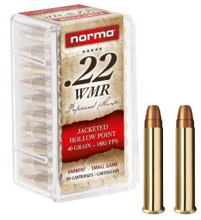 NORMA 22 Magnum Hollow Point 40 gr /50