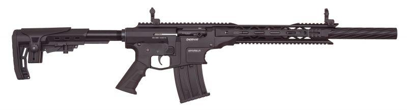 Fusil semi-automatique DERYA MK-12 AS-100S Noir cal.12/76