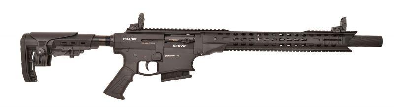 Fusil semi-automatique DERYA MK-12 AS-100X Noir cal.12/76