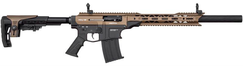 Fusil semi-automatique DERYA MK-12 AS-102S Noir/Bronze cal.12/76