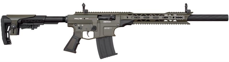 Fusil semi-automatique DERYA MK-12 AS-103SF Noir/Vert cal.12/76