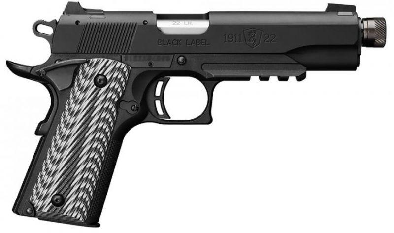 Pistolet BROWNING 1911 Black LABEL cal.22 Lr