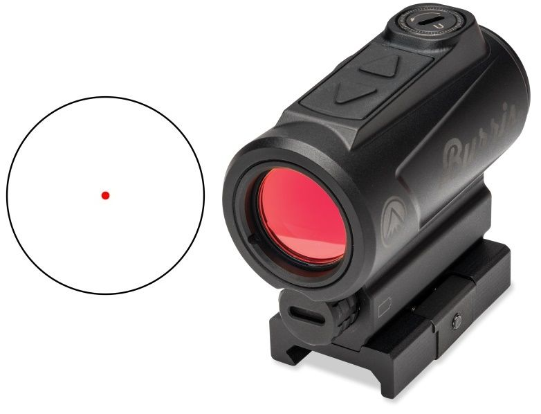 Point rouge BURRIS FASTFIRE Red-Dot (2 MOA) avec rail picatinny