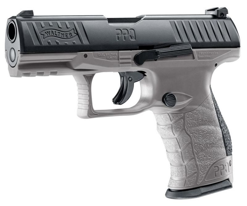 WALTHER PPQ M2 T4E Tungsten Gray RAM cal.43 ''UMAREX''